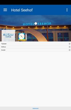 Hotel Seehof Haltern poster