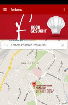 Ferbers Parkcafé poster