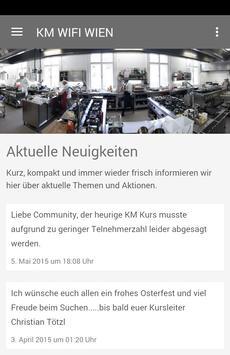 Küchenmeister WIFI WIEN poster