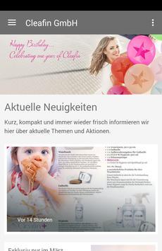 Cleafin GmbH poster