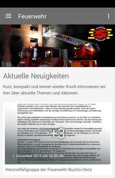 Feuerwehr Buchsi-Oenz poster