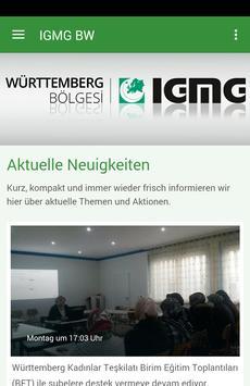 IGMG Württemberg poster