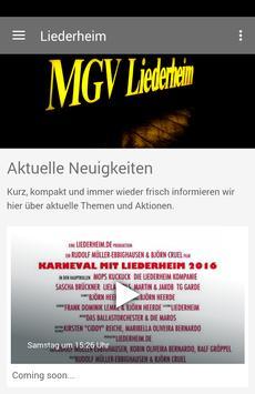 Liederheim poster