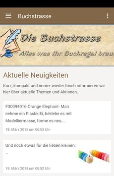 Buchstrasse poster