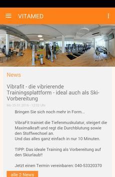 Vitamed Fitnessclub Hamburg poster