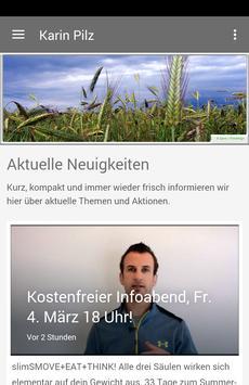 Karin Pilz - Gesundheit & mehr poster