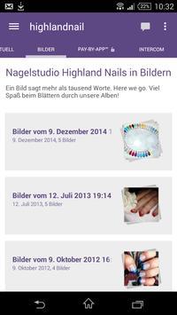 Highland Nails apk screenshot