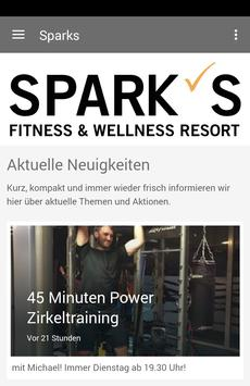 Spark's Fitness poster