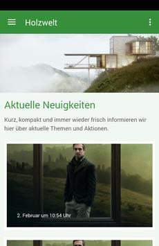 Holzwelt poster