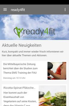 Ready4fit poster