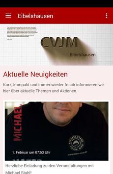 CVJM Eibelshausen poster