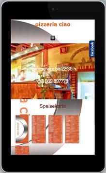 Pizzeria Ciao - Offenbach apk screenshot
