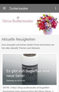 Caros Zuckerzauber poster