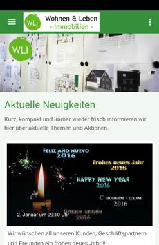 WLI Immobilien poster