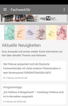 Deutsche Fachwerkstraße poster