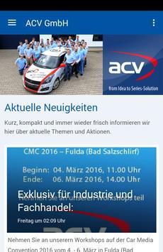ACV GmbH poster
