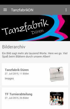 Tanzfabrik Düren poster