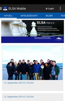 ELSA-Kiel e.V. poster