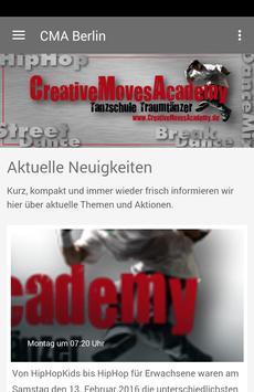 CMA Berlin poster