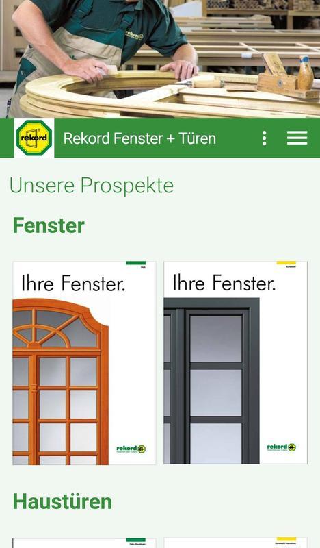 Rekord Fenster rekord fenster türen apk free house home app for
