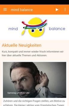 mind balance poster
