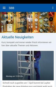 SBB Baumaschinen & Baugeräte poster