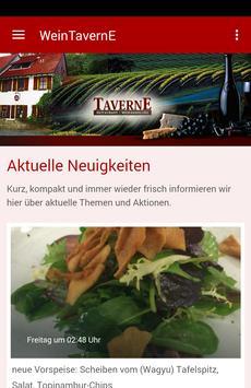 Wein Taverne Affiche
