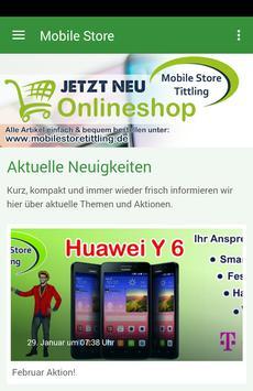 Mobile Store Tittling poster