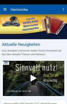 Erlebniswelt Harmonika poster