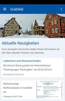 Gemeinde Grabfeld poster
