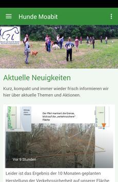 Hundegarten Moabit poster