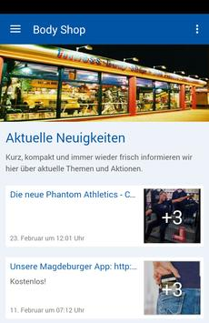 Fitness Body Shop in Magdeburg poster