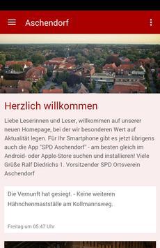 SPD Aschendorf poster
