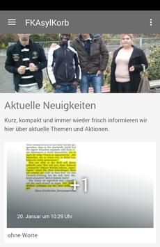 FKAsylKorb poster