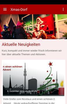 Weihnachtsdorf Dortmund poster