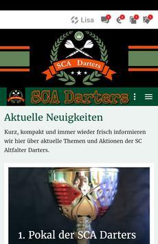 SCA Darters poster