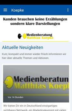 Medienberatung Koepke poster