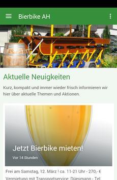 BierBike Ahaus poster