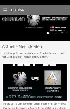 German Soldiers Clan poster