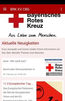 BRK Kreisverband Coburg poster