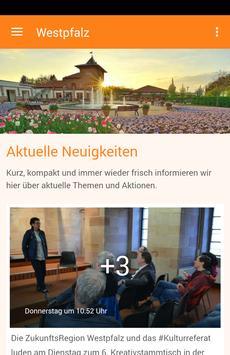 ZukunftsRegion Westpfalz poster