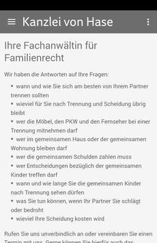 Kanzlei RA von Hase poster