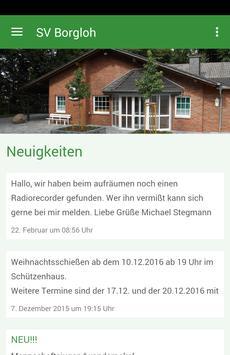 Schützenverein Borgloh poster