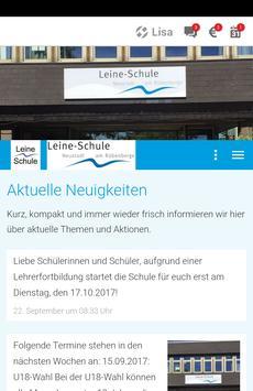 Leine-Schule Neustadt poster