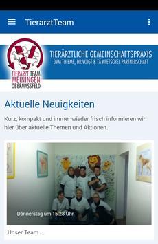 Tierarzt Team Meiningen poster