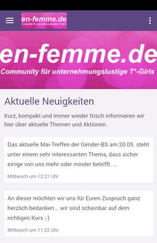 En Femme poster