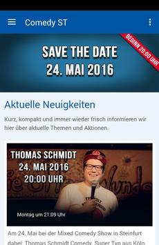 Comedy in Steinfurt poster