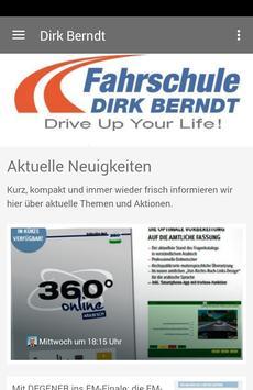 Fahrschule Dirk Berndt poster