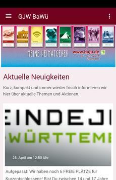 GJW Baden-Württemberg poster