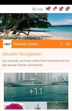 Reisebüro Rickert poster